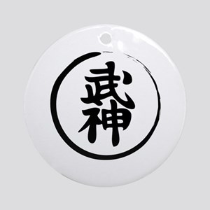 bujin Round Ornament