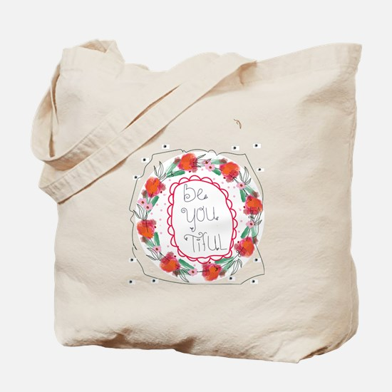 Cute Beautiful handwriting Tote Bag
