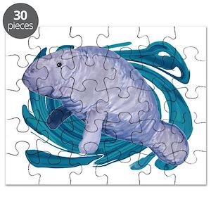 manatee puzzles cafepress