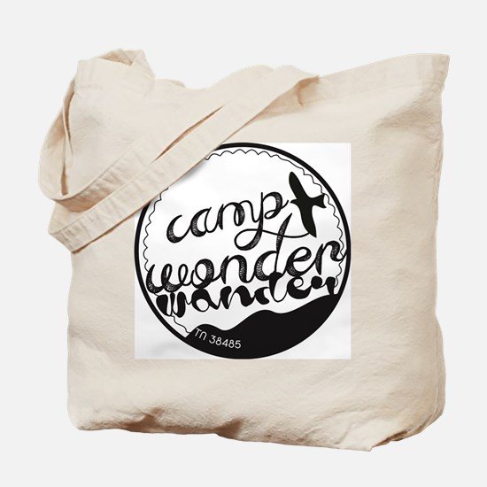 Camp Wonder Wander Patch Tote Bag