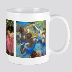 Dancers in Pink and Blue by Edgar D Mugs