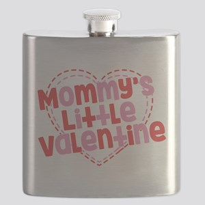 Mommy's Little Valentine Flask
