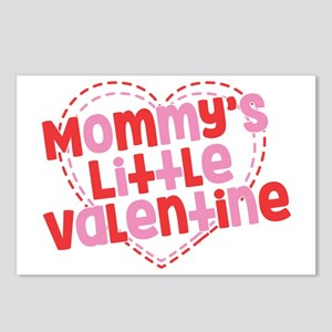 Mommy's Little Valentine Postcards (Package of 8)