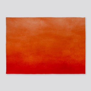 Blaze Ombre Watercolor 5'x7'Area Rug