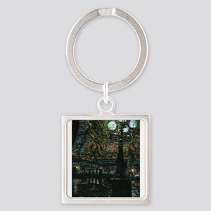 Night in the City Keychains