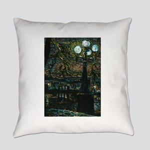 Night in the City Everyday Pillow