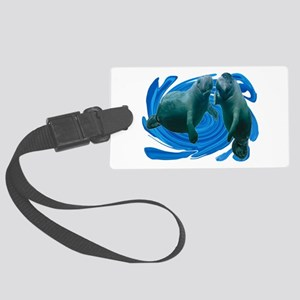 MANATEES Luggage Tag
