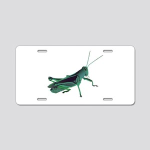 GRASSHOPPER Aluminum License Plate