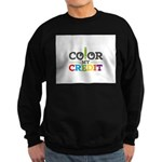 Color My Credit Sweatshirt