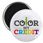 Color My Credit Magnets