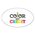 Color My Credit Sticker