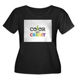 Color My Credit Plus Size T-Shirt
