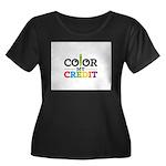 Color My Credit Plus Size T-Shirt