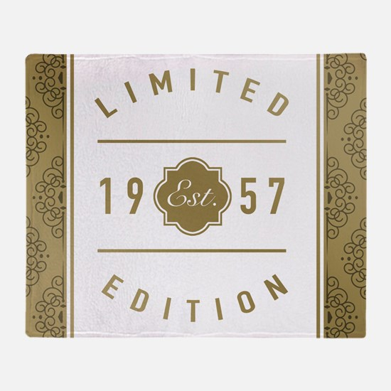 1957 Limited Edition Throw Blanket