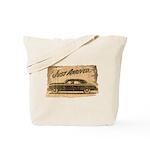 Vintage Auto-Just Arrived Tote Bag