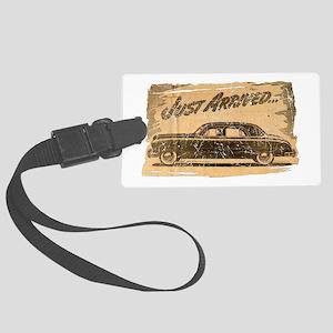 Vintage Auto-Just Arrived Large Luggage Tag