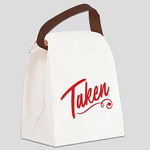 Taken Canvas Lunch Bag