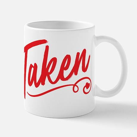Taken Standard Mug