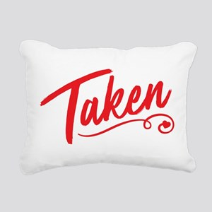 Taken Rectangular Canvas Pillow