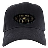 70th birthday Baseball Cap with Patch