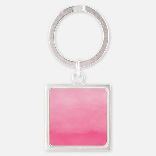 Bubblegum Ombre Watercolor Keychains