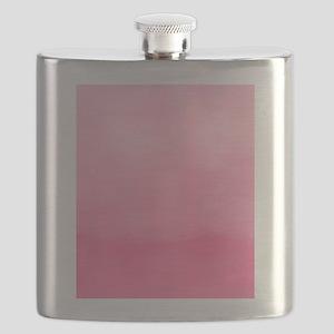 Bubblegum Ombre Watercolor Flask