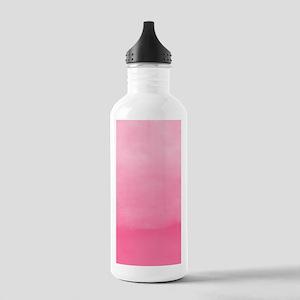 Bubblegum Ombre Watercolor Water Bottle