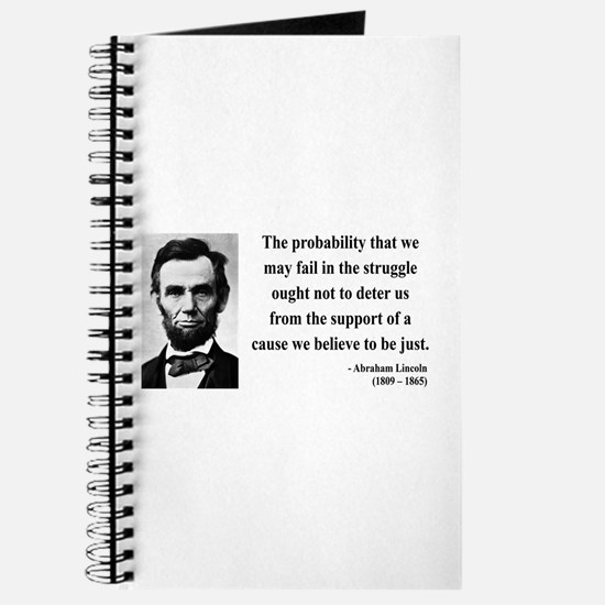 Abraham Lincoln 20 Journal