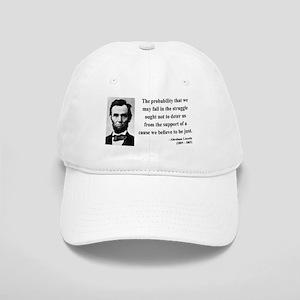 Abraham Lincoln 20 Cap