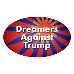 Dreamers Against Trump Decal