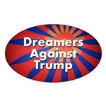 Dreamers Against Trump Sticker