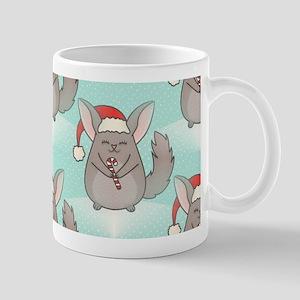 christmas chinchillas Mugs