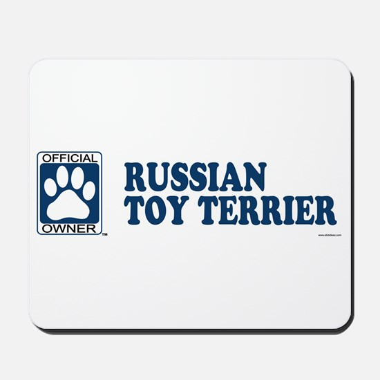 RUSSIAN TOY TERRIER Mousepad