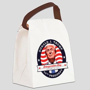 President Trump - Inauguration Da Canvas Lunch Bag