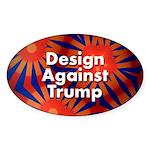 Design Against Trump Sticker