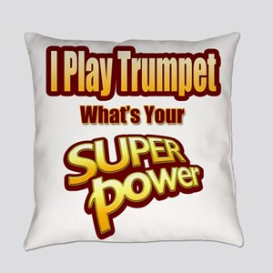 Super Power - Trumpet Everyday Pillow