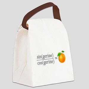 tan(gerine) math Canvas Lunch Bag
