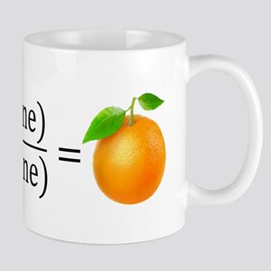 tan(gerine) math Mugs