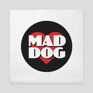 MAD DOG - Red Heart Queen Duvet