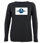 Sapphire Planet Plus Size Long Sleeve Tee