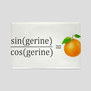 tan(gerine) math Magnets