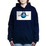 Sapphire Planet Women's Hooded Sweatshirt