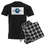 Sapphire Planet Men's Dark Pajamas