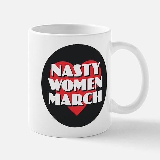 Nasty Women March Mugs