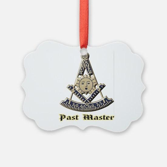 A F & A M Past Master Ornament