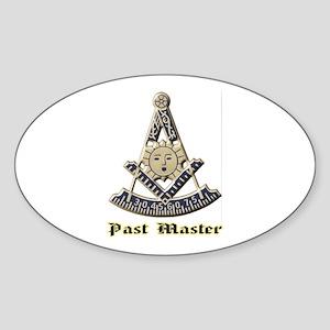 A F & A M Past Master Sticker