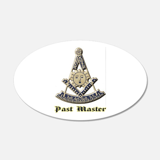A F & A M Past Master Wall Decal
