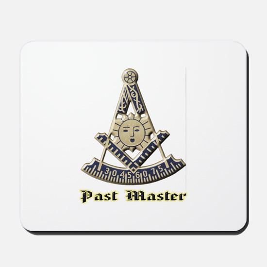 A F & A M Past Master Mousepad