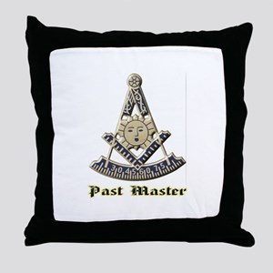 A F & A M Past Master Throw Pillow