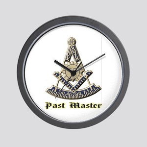 A F & A M Past Master Wall Clock